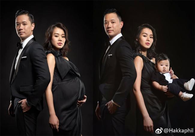 Hồ Hạnh Nhi trước, và sau khi sinh bé.