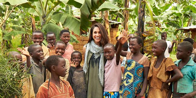 Meghan tham gia nhiều tổ chức từ thiện từ khi còn trẻ. Ảnh: Royal.uk.