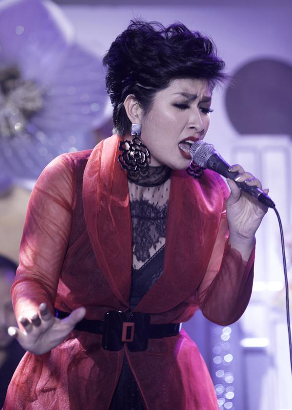 Nguyễn Hồng Nhung hướng đến hình ảnh một diva nhạc Việt tại Mỹ. Cô hiện rất đắt show biểu diễn ở hải ngoại.