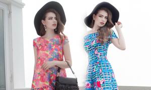 7 mẫu váy giúp bạn rực rỡ trong ngày hè
