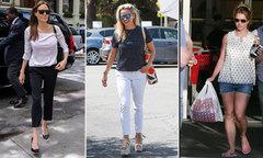 Trang phục thường ngày của các ngôi sao Hollywood
