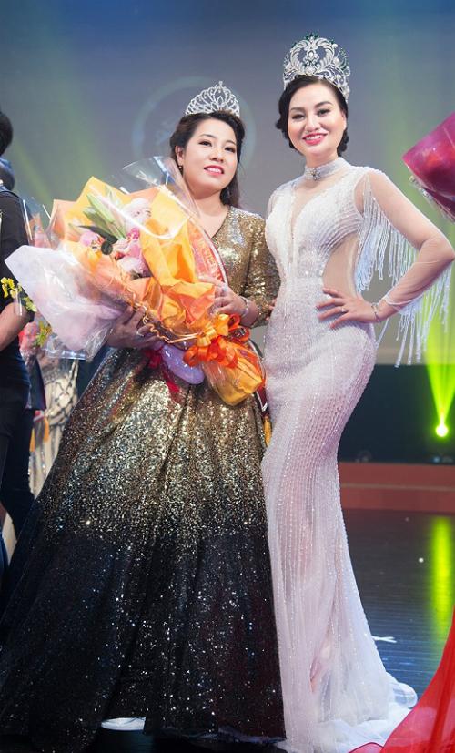 Hoa hậu Trần Huyền Nhung rạng rỡ trong chung kết nhan sắc tại Nhật - 7