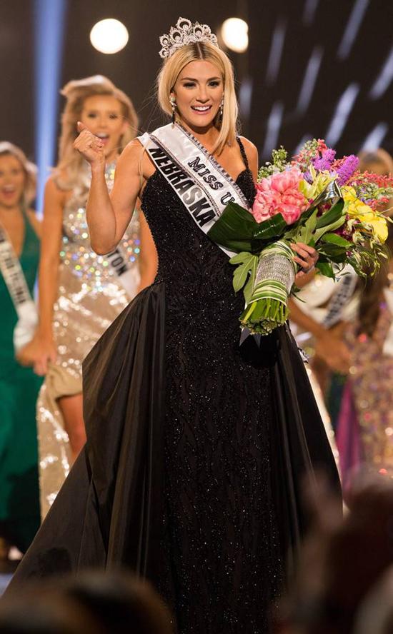 Người đẹp 23 tuổi sẽ đại diện cho Mỹ tham dự cuộc thi Miss Universe tổ chức vào cuối năm nay.