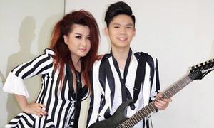 Con trai lớn của Bằng Kiều lần đầu biểu diễn chuyên nghiệp
