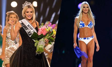Người đẹp cao 1,65m đăng quang Hoa hậu Mỹ 2018