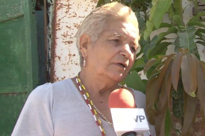 Bà Maria de la Luz trả lời phóng viên nhưng từ chối tiết lộ chi tiết về thai kỳ. Ảnh:CEN/La Republica.