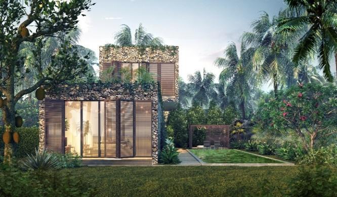 Một góc của X2 Hoi An Resort & Residence.