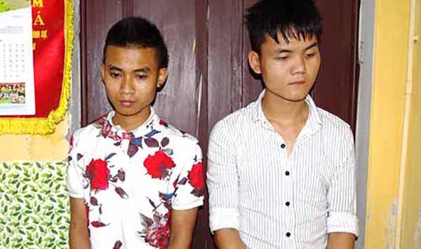 Hai tên cướp bị bắt sau một ngày gây án.