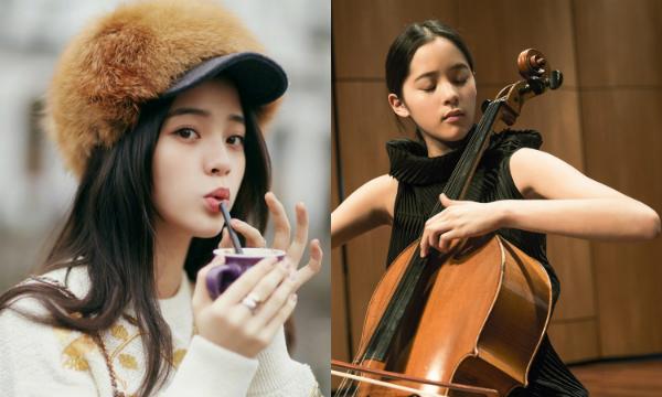 Trong ba chị em, Âu Dương Na Na được mệnh danh là Công chúa cello vàsở hữu nhan sắc nổi trội nhất.