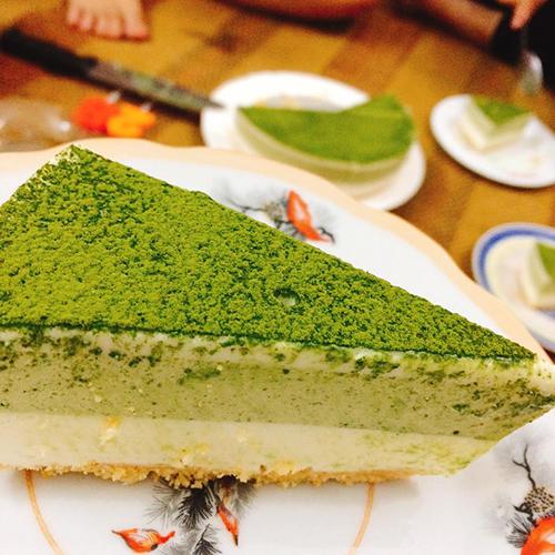 Bánh mousse sữa chua trà xanh chocolate - 3