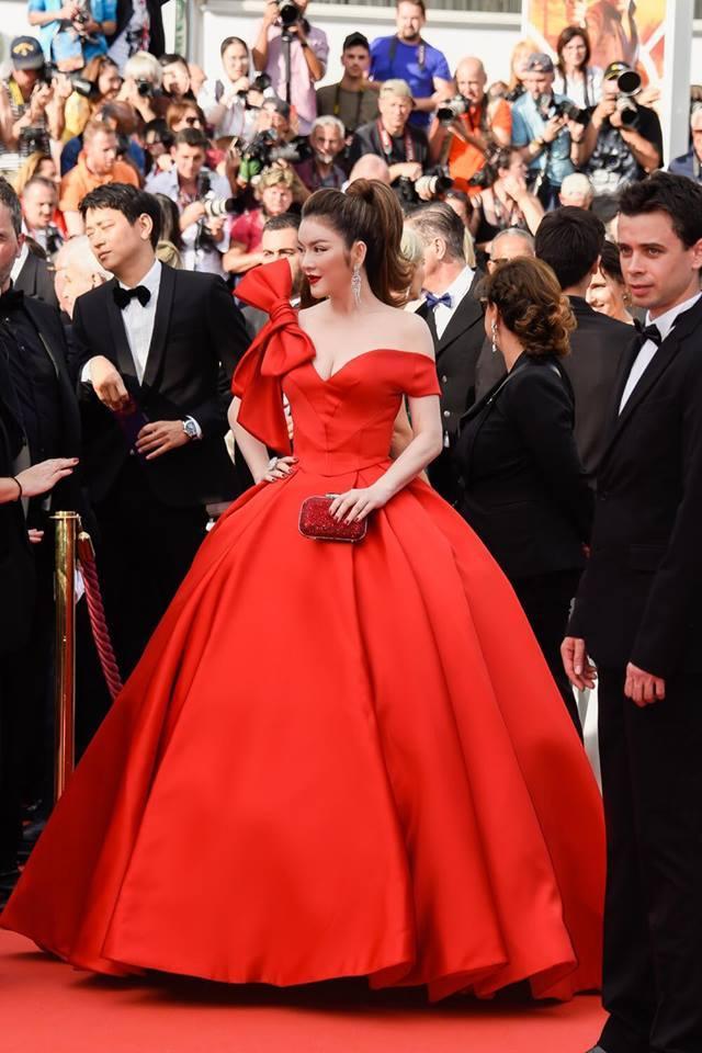 Loạt váy áo giúp Lý Nhã Kỳ tỏa sáng tại Cannes 2018