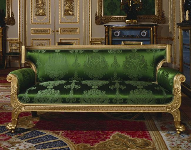 Chiếc ghế có tuổi đời gần 200 năm hiện vẫn được dùng ở lâu đài Windsor.