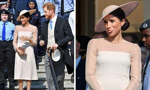 Vợ chồng Harry sánh đôi trong tiệc sinh nhật Thái tử Charles