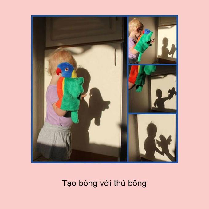 5 trò chơi với rối bóng giúp trẻ phát triển trí tưởng tượng - 3