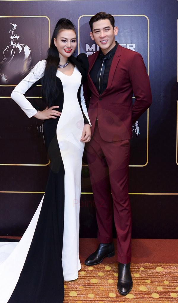 Huyền Nhung cùng Minh Trung - top 5 Mister International 2018