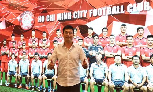 HLV Hữu Thắng chuẩn bị ra mắt trong vai trò Chủ tịch CLB TP HCM.