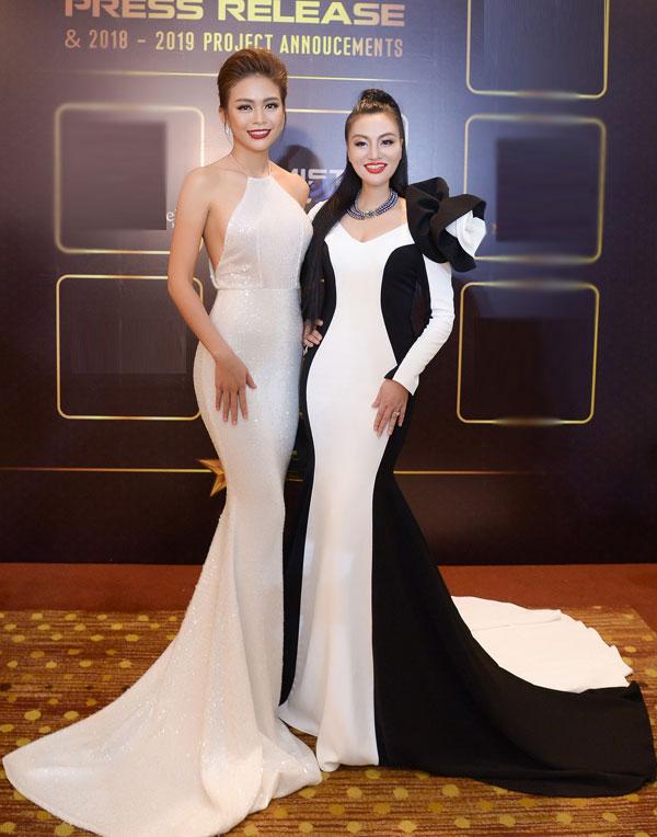 Nữ hoàng Trần Huyền Nhung đọ sắc cùng dàn sao Việt tại sự kiện - 4