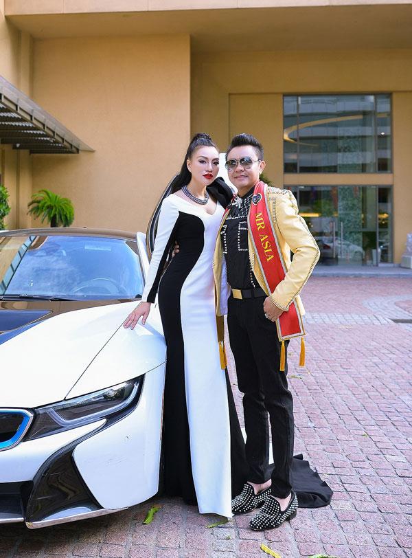 Nữ hoàng Trần Huyền Nhung đọ sắc cùng dàn sao Việt tại sự kiện - 6