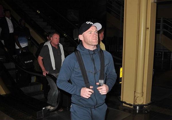 Rooney có mặt ở Mỹ để kiểm tra y tế. Ảnh: NS.