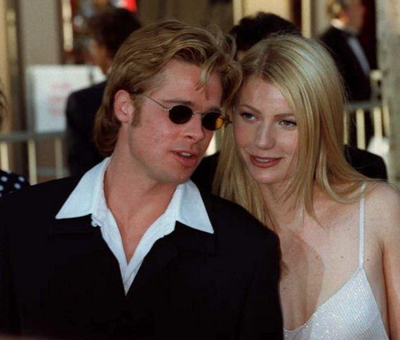 Brad Pitt và Gwyneth Paltrow thời hẹn hò.
