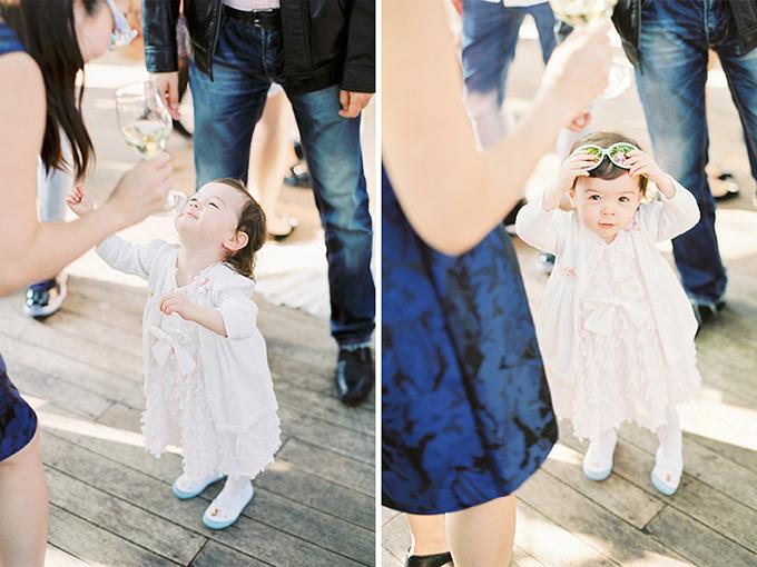 Trẻ em là những khách mời đặc biệt của đám cưới.
