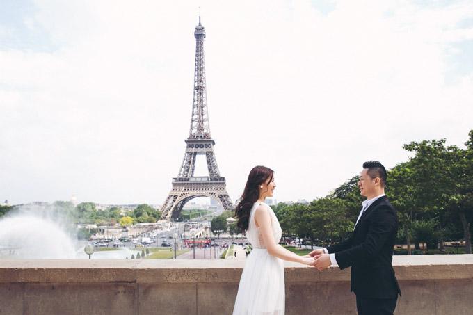 Phí Thùy Linh và chồng doanh nhân hâm nóng tình yêu ở Pháp - 6