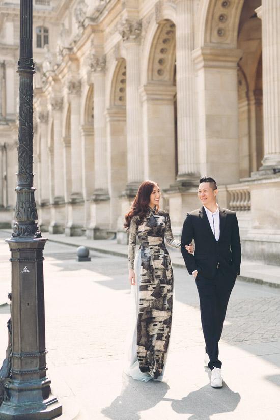 Phí Thùy Linh và chồng doanh nhân hâm nóng tình yêu ở Pháp - 4