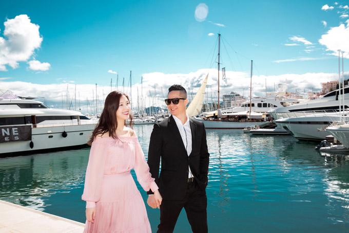 Phí Thùy Linh và chồng doanh nhân hâm nóng tình yêu ở Pháp - 2