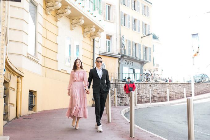 Phí Thùy Linh và chồng doanh nhân hâm nóng tình yêu ở Pháp
