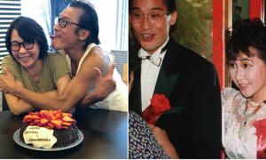 'Tình 31 năm vẫn nồng' của Lương Gia Huy và bà xã kém sắc