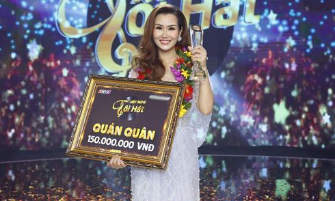 Võ Hạ Trâm lần thứ năm đoạt giải nhất thi hát