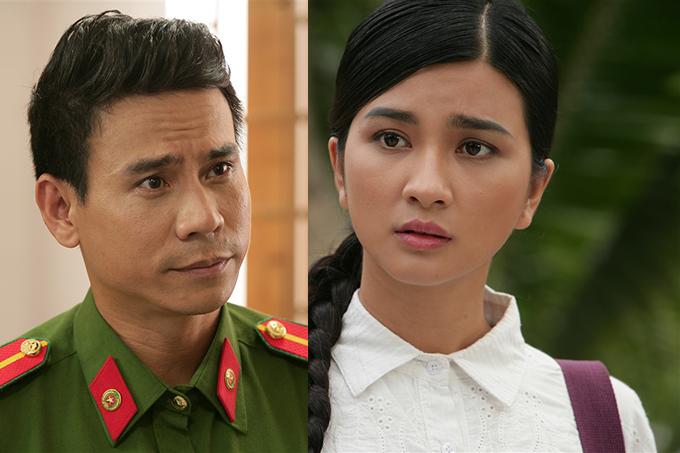 Trong phim, Kim Tuyến đóng cùng Trí Quang.