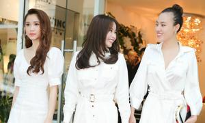 Hoa hậu Hải Dương dự sự kiện cùng Quỳnh Hương, Mai Quỳnh
