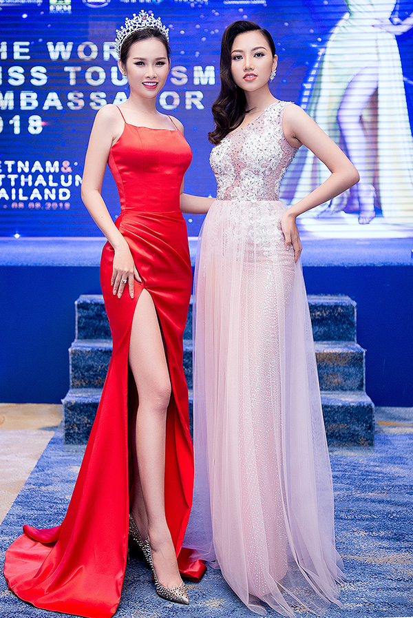 Hoa hậu Thư Dung, Á hậu Thanh Trang đọ sắc tại sự kiện - 4