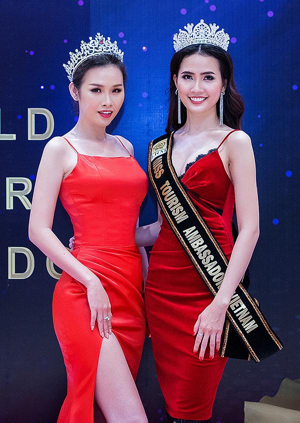 Hoa hậu Thư Dung, Á hậu Thanh Trang đọ sắc tại sự kiện - 5