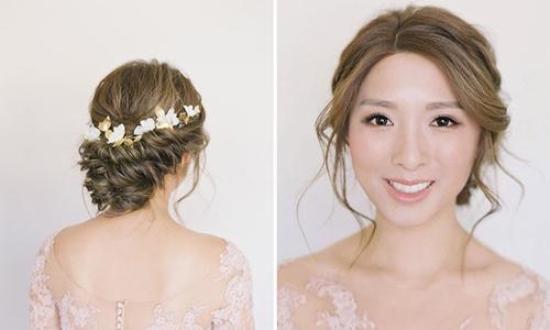 Những kiểu tóc vượt thời gian cho cô dâu