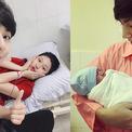 Chúng Huyền Thanh sinh con trai nặng 3,2 kg