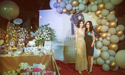 Diva Thanh Lam dự sự kiện thời trang của cháu gái