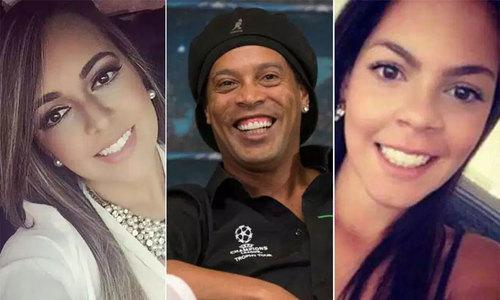 Ronaldinho: 'Tôi không cưới hai vợ cùng lúc'