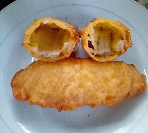 Bánh chuối chiên giòn - 1