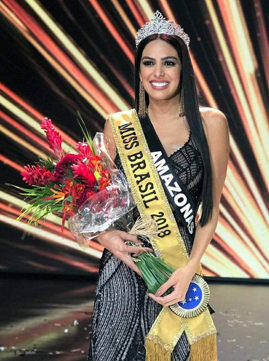 Người đẹp Mayra Dias đến từ bang Amazonas đăng quang Hoa hậu Brazil vào tối 26/5.