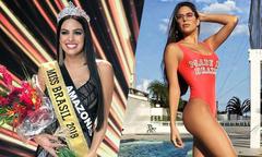 Nữ phóng viên lên ngôi Hoa hậu Brazil 2018