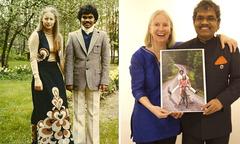 Hôn nhân 40 năm của người đàn ông Ấn Độ đạp xe 10.000 km gặp người yêu
