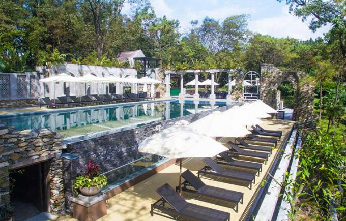 Bốn khu nghỉ gần Hà Nội dành cho các gia đình với giá dưới 3 triệu