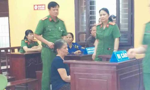 Bà lão sát hại cháu nội 23 ngày tuổi, phi tang xác lĩnh 13 năm tù