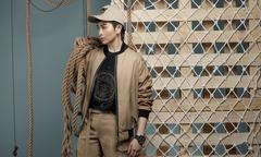Gil Lê làm mẫu cho bộ sưu tập nam