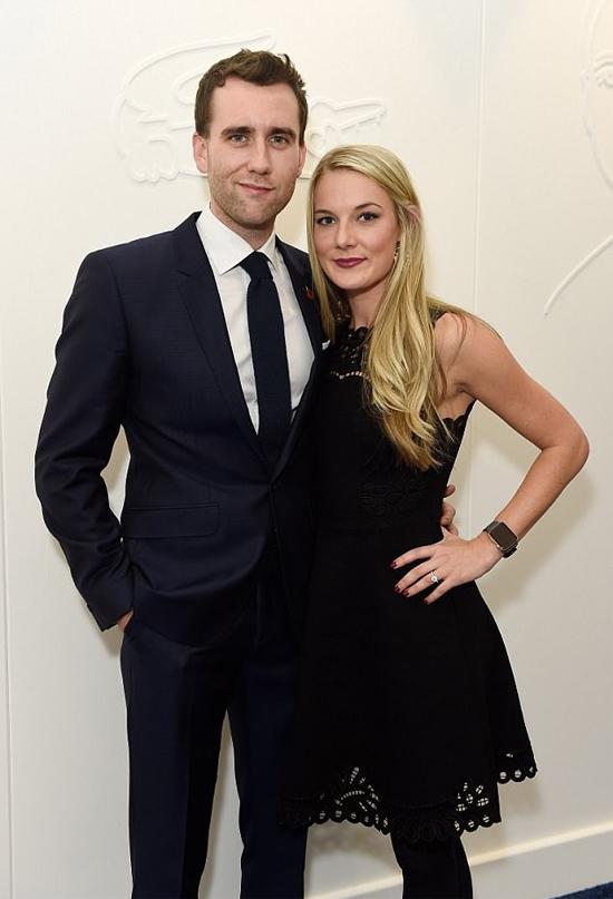 Matthew và người đẹp Angela Jones gắn bó từ năm 2016.