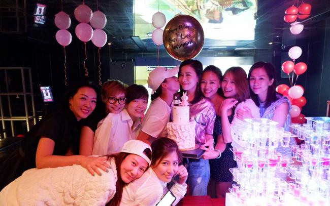 Dàn sao TVB tụ tập trong tiệc sinh nhật tuổi 43 của Xa Thi Mạn - 6