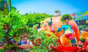 Khai mạc lễ hội Trái cây Nam Bộ 2018 tại Suối Tiên