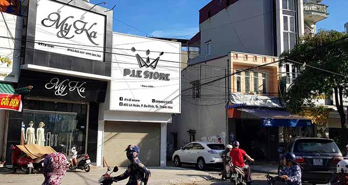 Shop quần áo P.I.E STORE chiều nay ngừng kinh doanh.